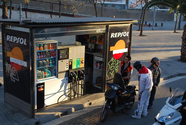 Mini gas station