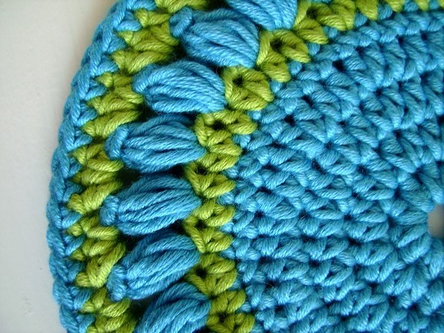 free crochet pot holder pattern -  www.crochet4you.com