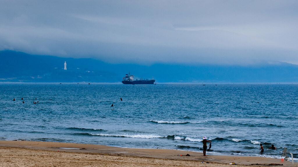 пляж да-нанг вьетнам