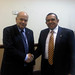 Secretary General Meets with the President of Honduras
