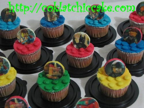 Cupcake Lego Movie