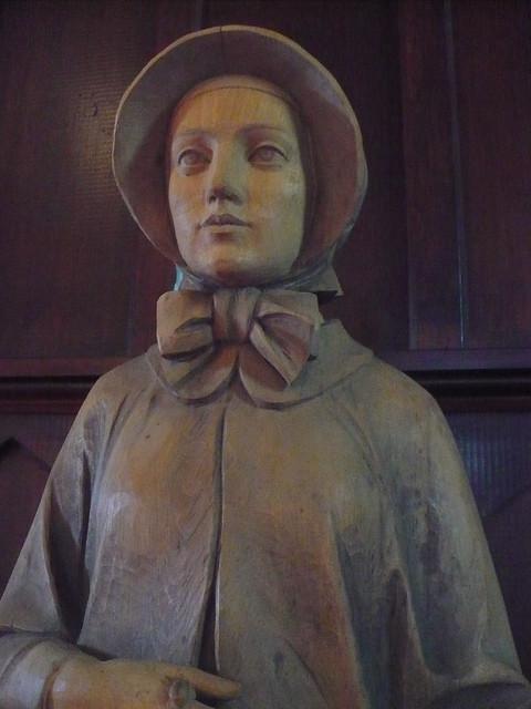 Saint Elizabeth Ann Seton Statue, St. Mary's Seminary Chapel Baltimore