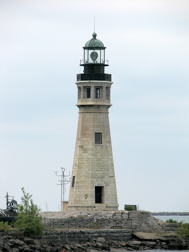 Lighthouse at Erie Canal Harbor Buffalo NY 1676
