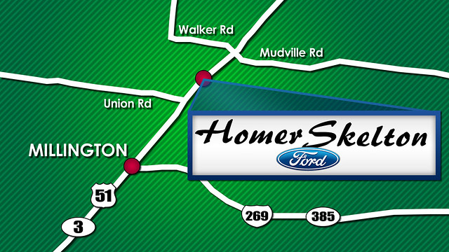 homer skelton ford of millington map to find us flickr photo. Cars Review. Best American Auto & Cars Review