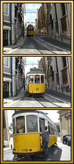 El paso del tranvía