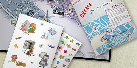 A la Carte Maps, Create your own City à la Carte