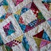 { geometric squares quilt } by { philistine made }