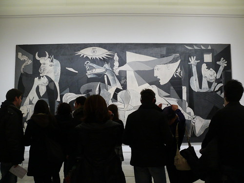 Guernica von Pablo Picasso.