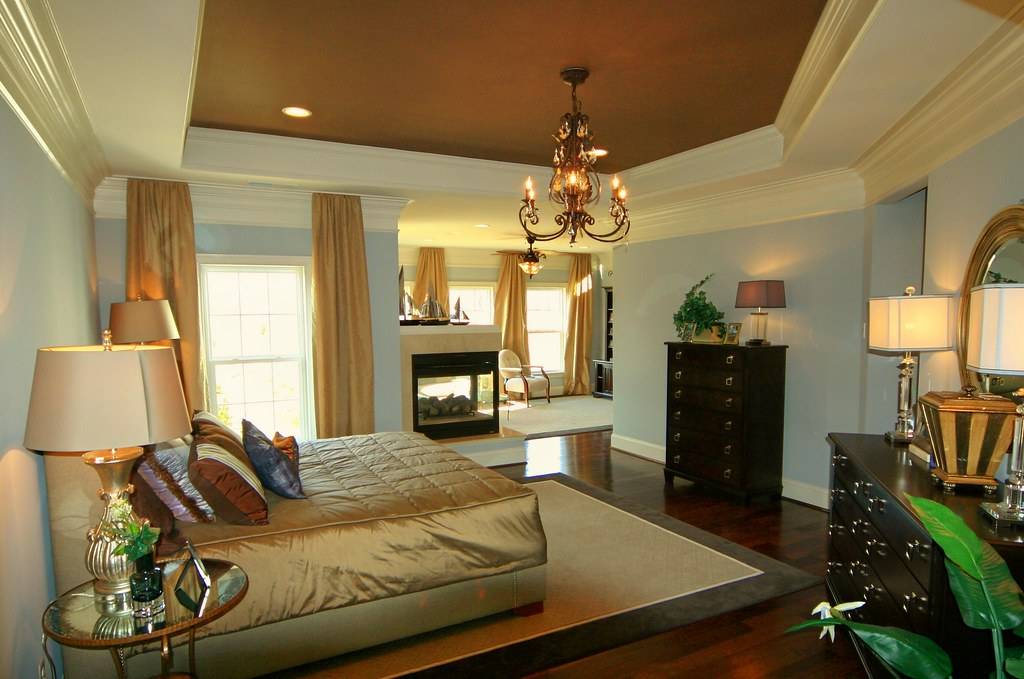 Benton Model Master Bedroom