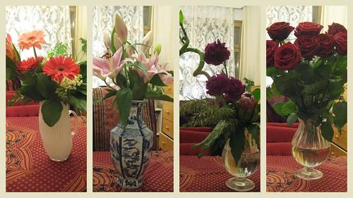Onnitteluja. Kiitos kukista! by Anna Amnell