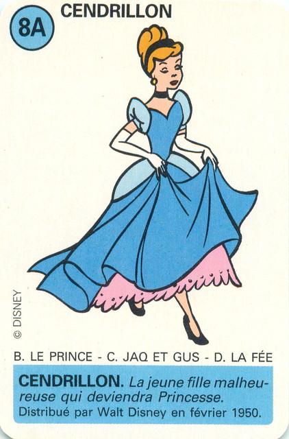 Disney Jeu D'atout Ducale- Cendrillon