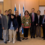 DFM Ayalon meets delegation of Indonesian journalists 23Feb10