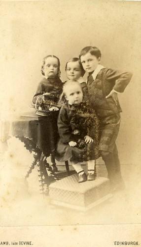 G W and Elizabeth Butler's children