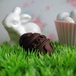 Handmade chocolate eggs