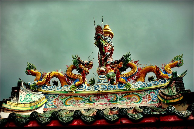 Chinese Roof Dragons | Flickr - Photo Sharing!