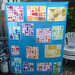 Rainbow Mosaic Quilt Top by Kindred Crafters