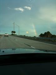Rainbow arc over Tampa