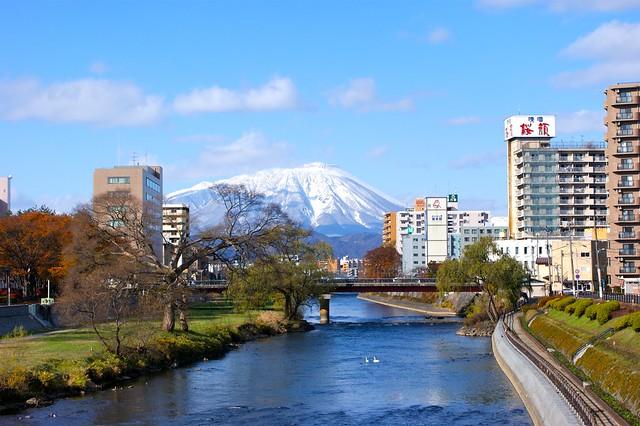 Photo:岩手山と北上川 By:lllnorikolll-300ER