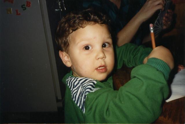 little ian sketching