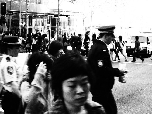 NSW Police on lunch break