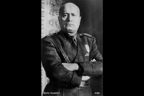 Benito Mussolini – the socialist