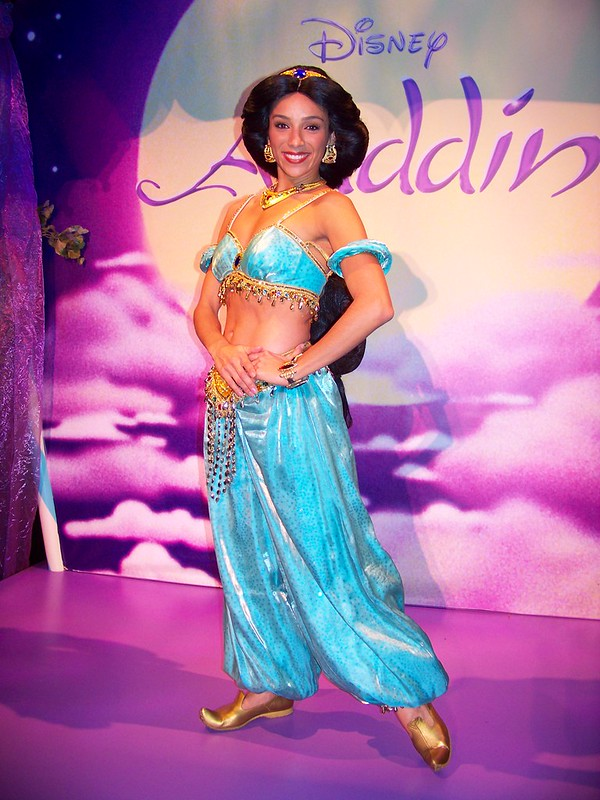Meeting Jasmine at the Ultimate Disney Experience
