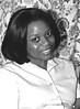 Linda a Nurse from Zimbabwe at Belsize Park B&W Aug 1999 002 -adj