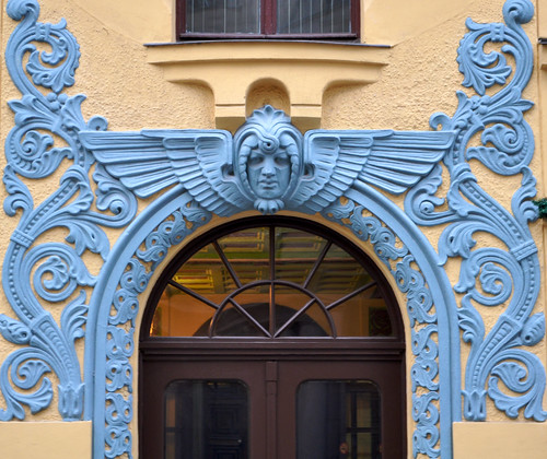 Doorways of Riga