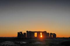 Stone Henge Sunset