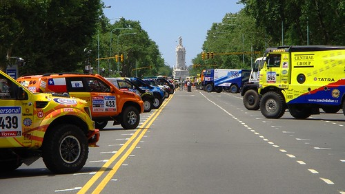 Rally Dakar 2010. Argentina-Chile