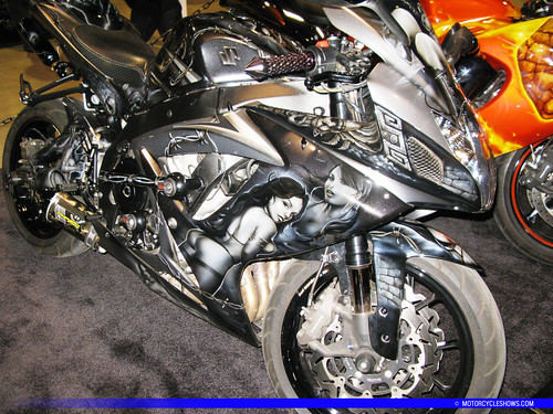 Custom Motorcycles at the International Motorcycle Shows