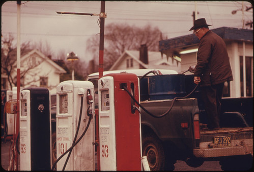 Imported Gasoline Was Available in Oregon During the Fuel Crisis of 1973-74 at Double the Cost of the Domestic Fuel 03/1974