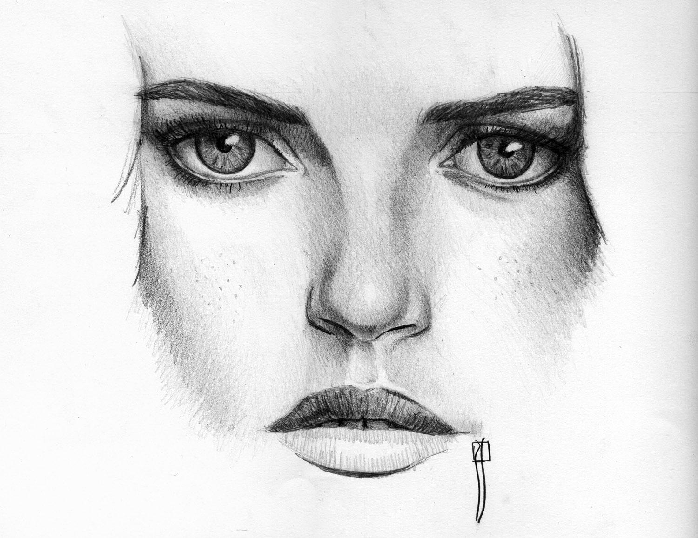 Nariz dibujada a lapiz - Imagui