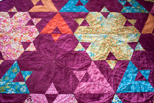 Jelly roll quilt by Mats W Lundberg