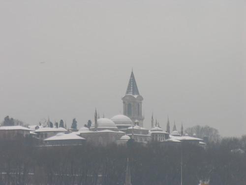 Topkapı palota télen