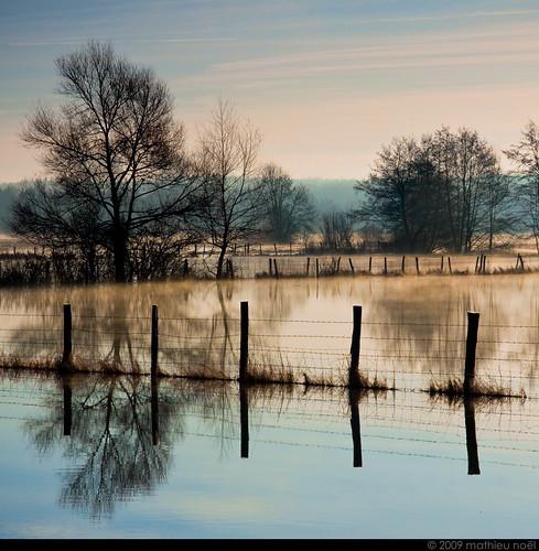 winter hiver 2009 franchecomté piquet hautesaône innondations vezet plainedubas