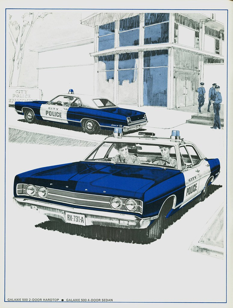 1969 Ford Galaxie 500 Police Cars A Photo On Flickriver 1970 Car