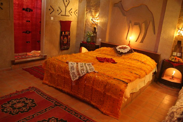 Rooms Auberge du Sud Hotel Merzouga Morocco