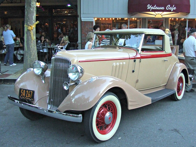 1933 Pontiac Eight Convertible Coupe 5a 267 1 Flickr