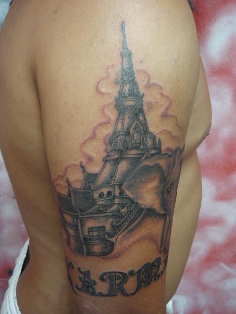 Small Elephant Tattoo Designs