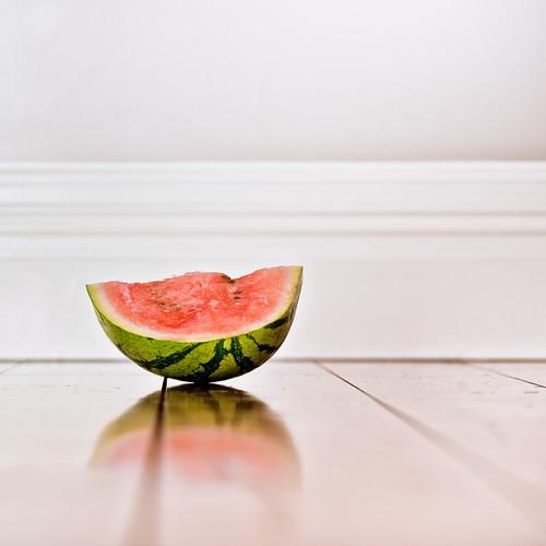 Minimalist Fruit Photography