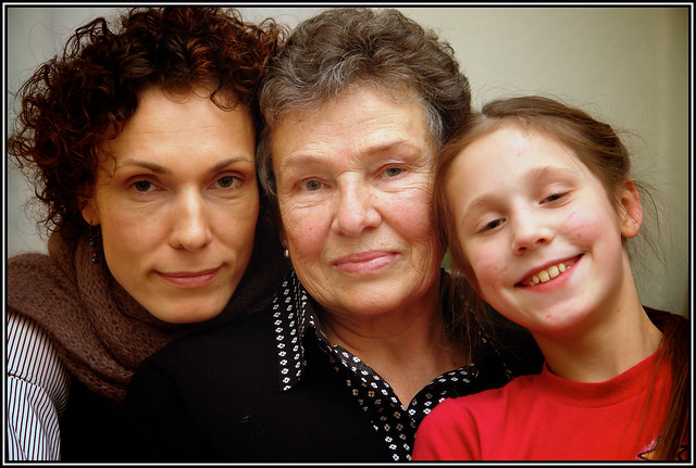 2 mothers / 2 daughters