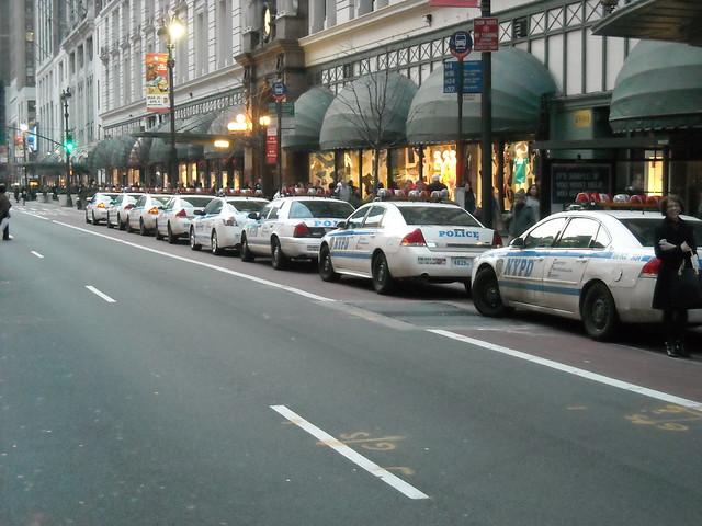Cop Car Parked