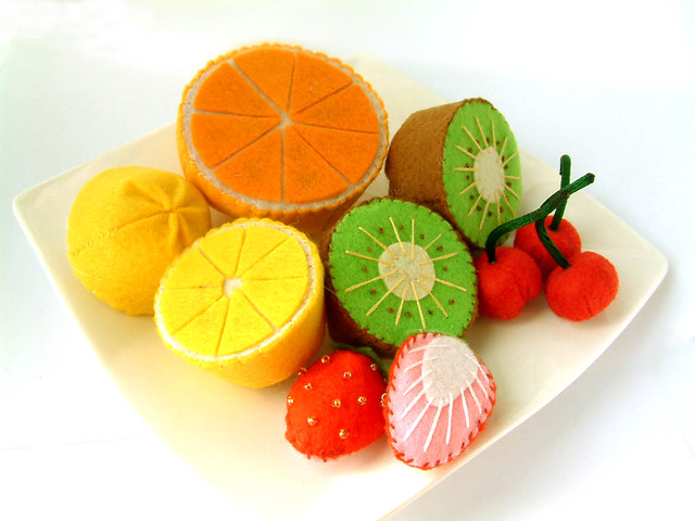 FELT FRUIT PATTERNS « Free Patterns
