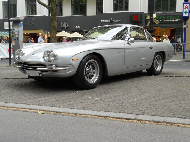 Lamborghini 400 GT 2+2 (1967) | Flickr - Photo Sharing!