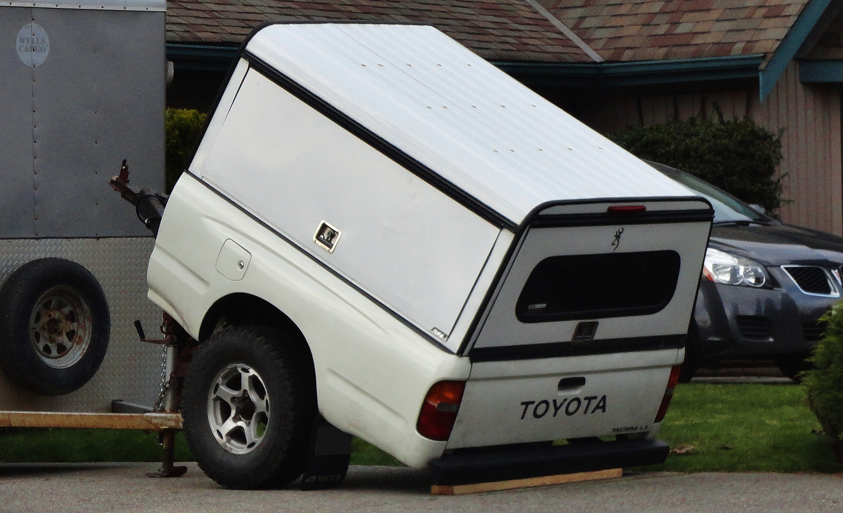 Toyota Tacoma Pickup Truck Bed Trailer | Flickr - Photo ...