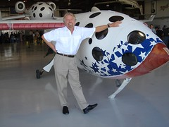 Sir Richard Branson and SpaceShipOne
