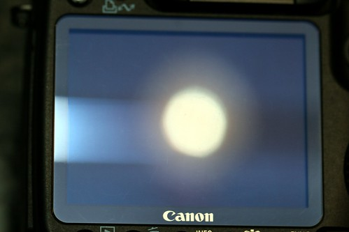 rear LCD closeup   canon eos 50d body for sale