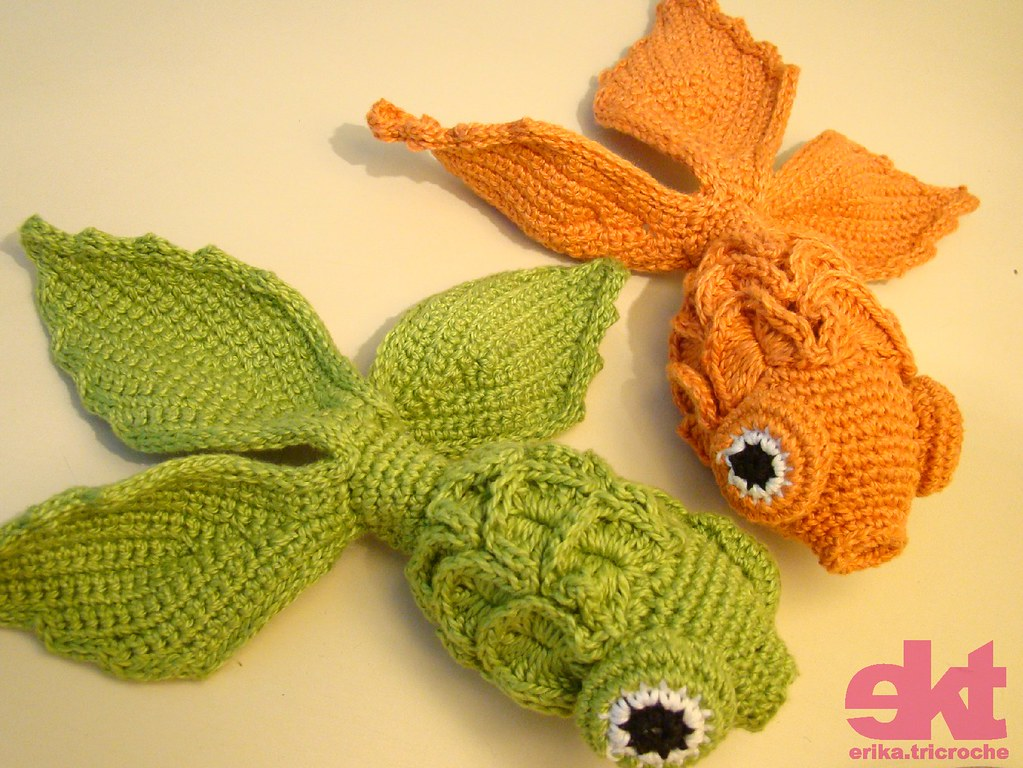 Amigurumi Goldfish : Flickriver
