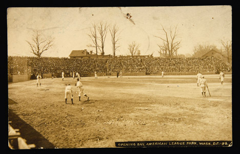 Opening Day at American League Park, 1911